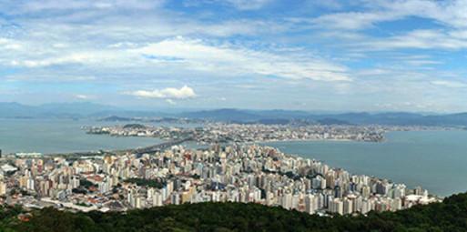 Blumenau para Florianópolis