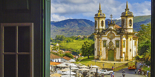 Belo Horizonte para Ouro Preto