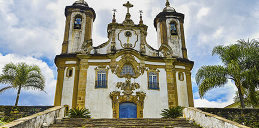 Rio de Janeiro para Ouro Preto